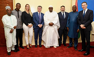 RS Consulting and President of Gambia Adama Barrow